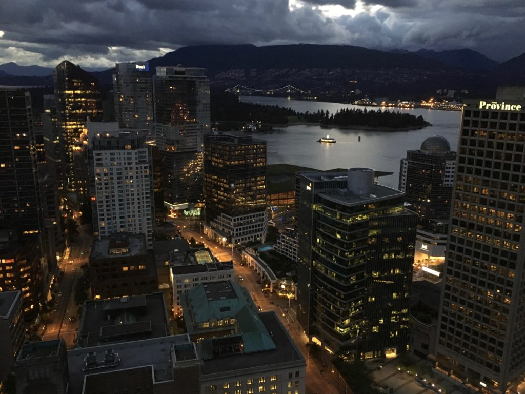 Vancouver Night